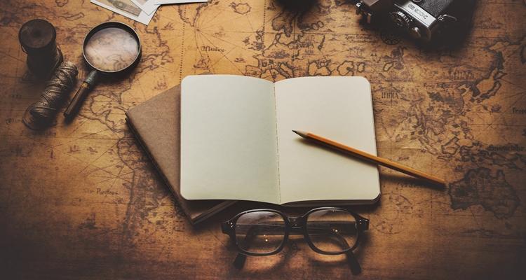 pamiętnik podróżnika, zeszyt wspomnień, travelling notebook