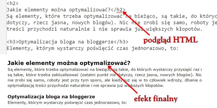 nagłówki html