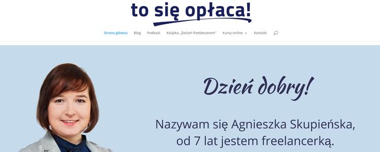 blog Tosię opłaca!