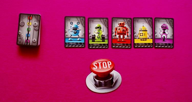 gra karciana Fabryka robotów