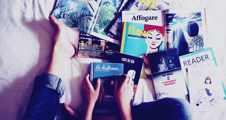 czytanie książek włóżku