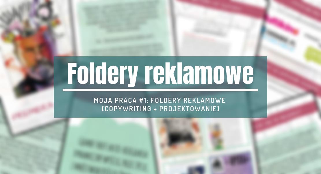 tworzenie folderów reklamowych
