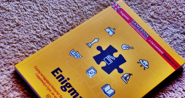 Enigmas Gamebook zćwiczeniami