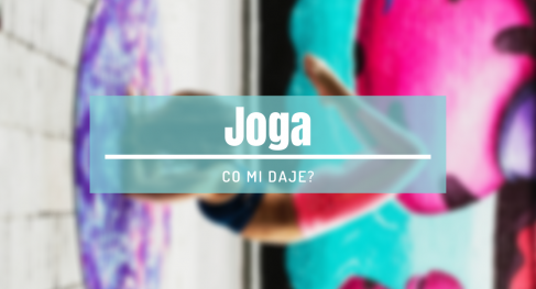 co daje joga
