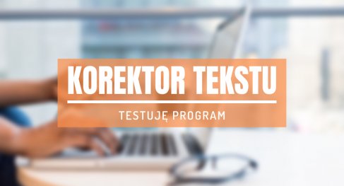 korektor tekstu program