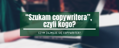 szukam copywritera