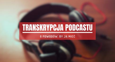 transkrypcja podcastu