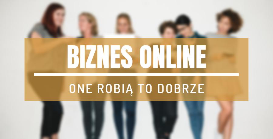biznes online kobiety