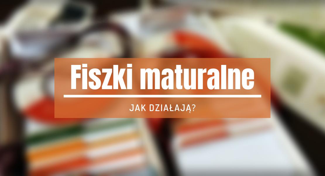 fiszki maturalne