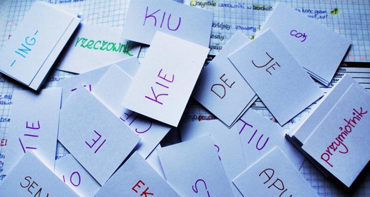 fiszki esperanto