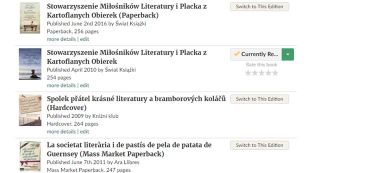 baza książek goodreads