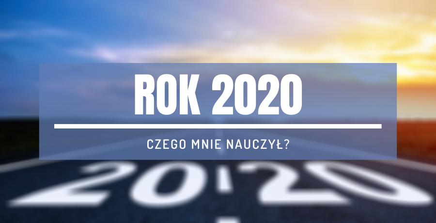 droga zachód słońca rok 2020 podsumowanie