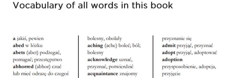 Pollyanna [ze słownikiem]